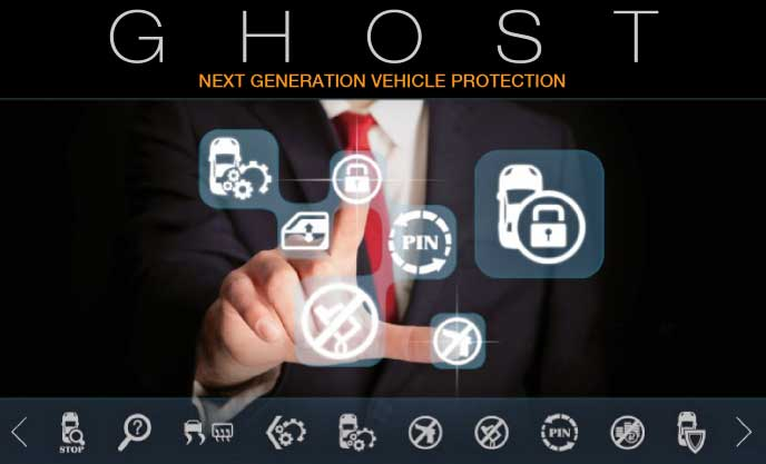 ghost immobiliser available for installation at autotechnik