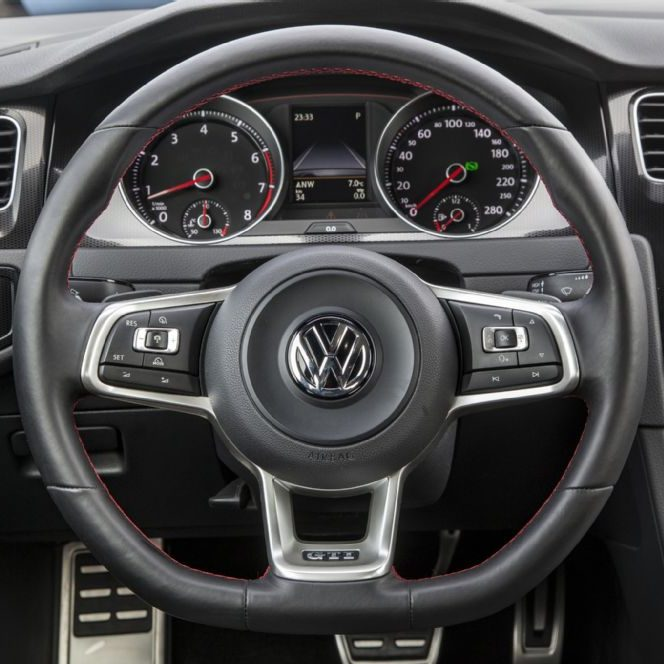 vw steering wheel service page