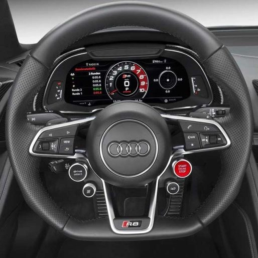 Audi steering wheel on autotechnik