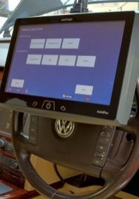 Autologic assist plus on a steering wheel
