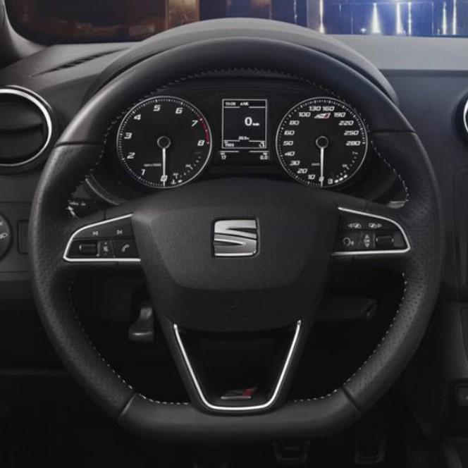 Seat steering wheel autotechnik